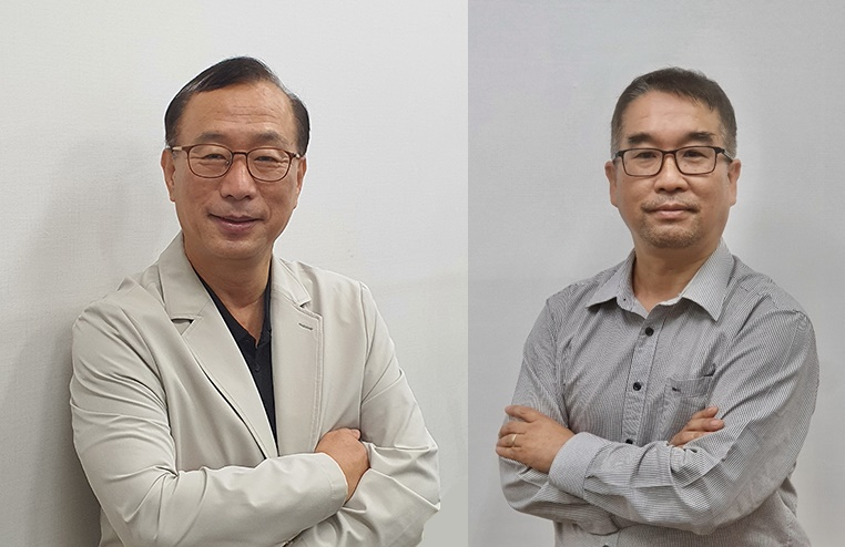 인투셀(대표 박태교)은 최고임상담당자(CSO)로 강종수 전무(왼쪽)를, 최고전략담당자(CSO)로 문성주 전무를 영입했다고 14일 밝혔다.